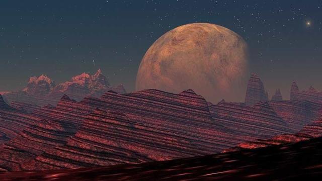 Agência Europeia Espacial registra foto de Marte de 'cabeça para baixo'