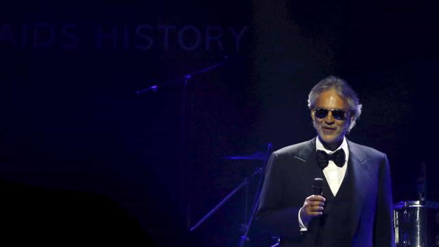 Bocelli recebe Global Award de 'Melhor Artista Clássico'