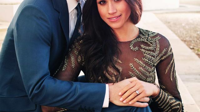 Look de Meghan Markle nas fotos oficiais de noivado chama a atenção