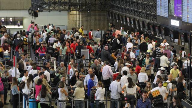 Número de passageiros transportados por aéreas brasileiras cresce 2,93%