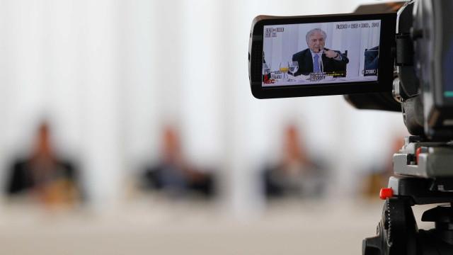 Na TV, Temer ignora Lava Jato e pressiona Congresso por Previdência
