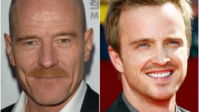 Veja o antes e o depois do elenco de 'Breaking Bad'