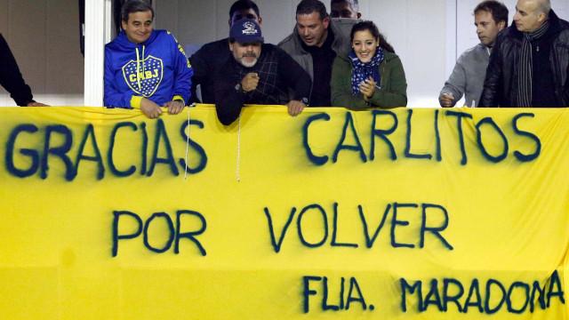 Maradona festeja retorno de Tevez ao Boca Juniors: 'Não é um traidor'