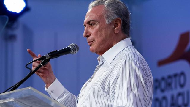 Temer sanciona mudanças na LDO 2018 com vetos