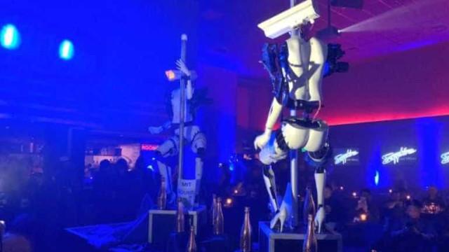 Clube de Las Vegas coloca robôs no lugar de strippers; veja vídeo