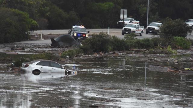 Número de mortos em deslizamento na Califórnia aumenta