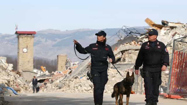 Cidade da Itália registra terremoto de 3,4 graus