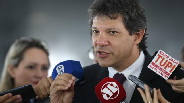 Haddad nega articulação para chapa com Ciro Gomes