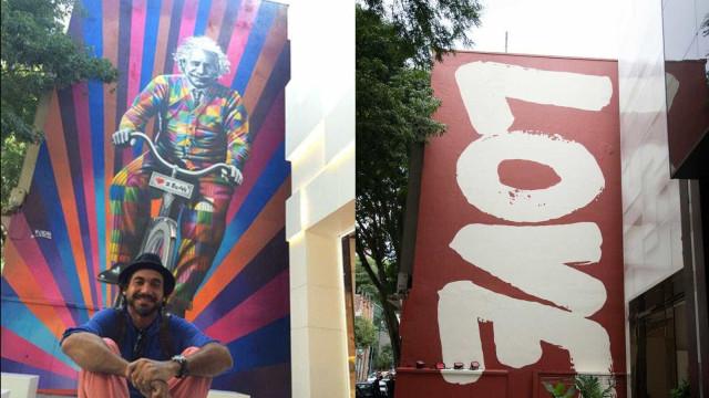 Loja de SP substitui mural de Kobra em fachada e causa polêmica