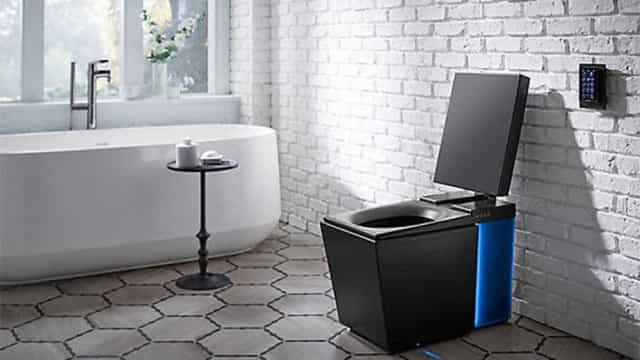 Banheiro inteligente aquece tampa da privada antes de você sentar