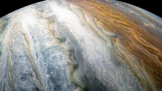 Conheça cintura aérea que rodeia o planeta Júpiter