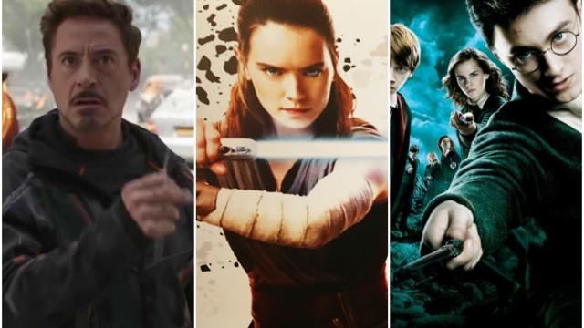 Conheça as maiores franquias de cinema da história