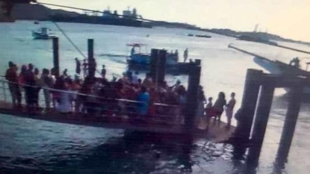Vídeo mostra pânico após ponte desabar em Salvador