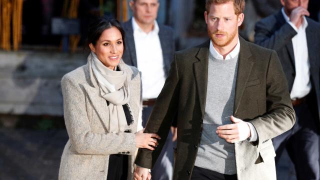 Romance de Harry e Meghan vai virar filme