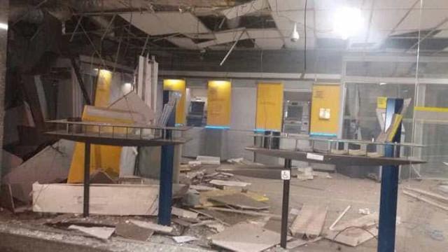 Bandidos explodem agência do Banco do Brasil no Rio de Janeiro