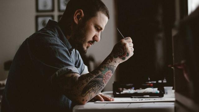 'Google das tatuagens' permite que artistas tracem sua próxima tattoo