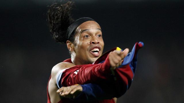 Com Barça e seleção, Ronaldinho terá despedida oficial depois da Copa