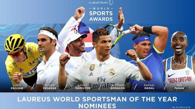 Conheça os indicados ao Prêmio Laureus 2018, o 'Oscar do esporte'