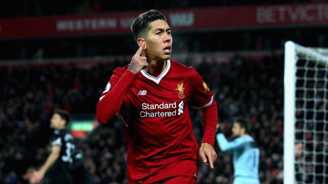 Lenda do Liverpool diz que Firmino é subestimado na Inglaterra