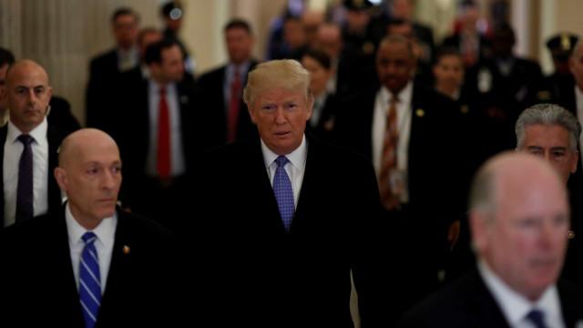 Trump diz que tensão com Pyongyang não se resolverá 'de forma pacífica'