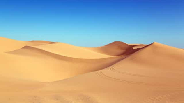 O deserto no Qatar em uma fascinante time-lapse