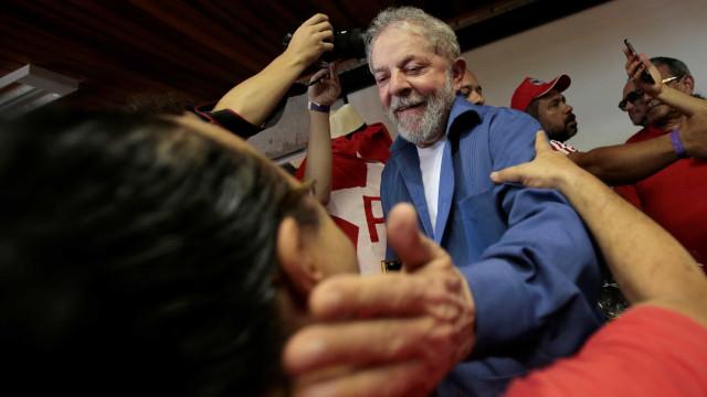 A 6 dias de julgamento, Lula diz estar com a 'tranquilidade dos justos'