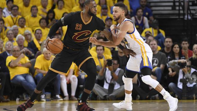 Jogo das Estrelas da NBA terá LeBron e Curry como capitães