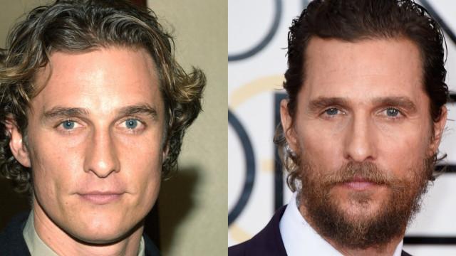 Mudança radical: veja os famosos com e sem barba