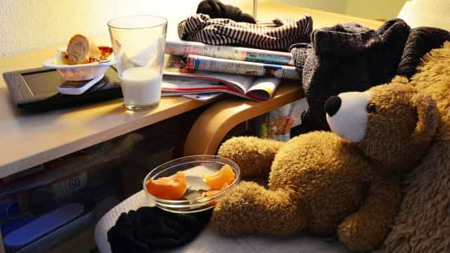 Bagunça está associada a depressão, ansiedade e compulsão alimentar