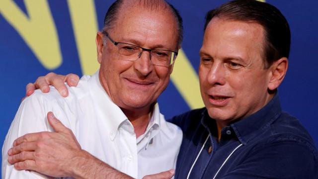 Alckmin não é âncora na minha campanha, diz Doria
