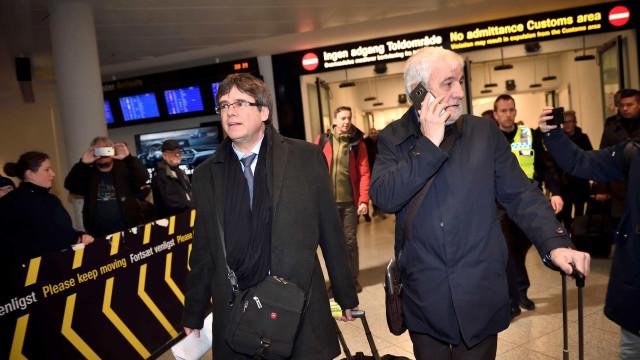 Espanha pede prisão de líder catalão na Dinamarca