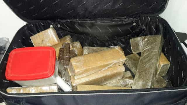 Argentino é preso ao fazer entrega no 'delivery' de drogas