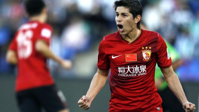 Conca fica fora da lista do Shangai para a Champions League asiática