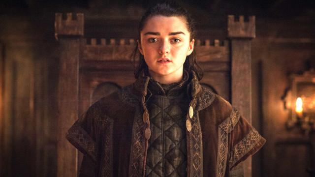 Gravações de 'Game of Thrones' acabam e atriz se despede: 'Adeus, Arya'