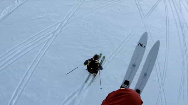 Esquiadores encontram cabra a 3 mil metros de altitude