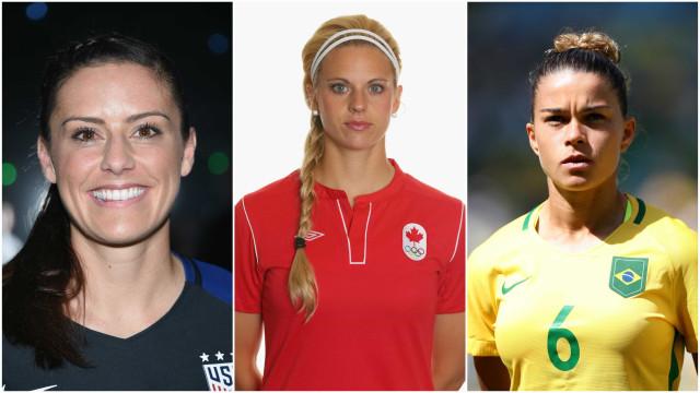 Veja as jogadoras de futebol mais bonitas do mundo