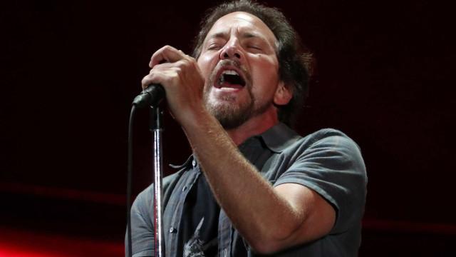 Eddie Vedder inicia nesta quarta sequência de shows em São Paulo