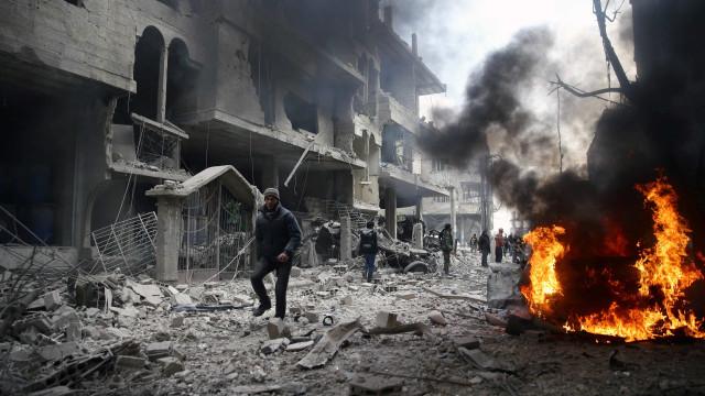 Guerra na Síria completa 7 anos: veja cronologia