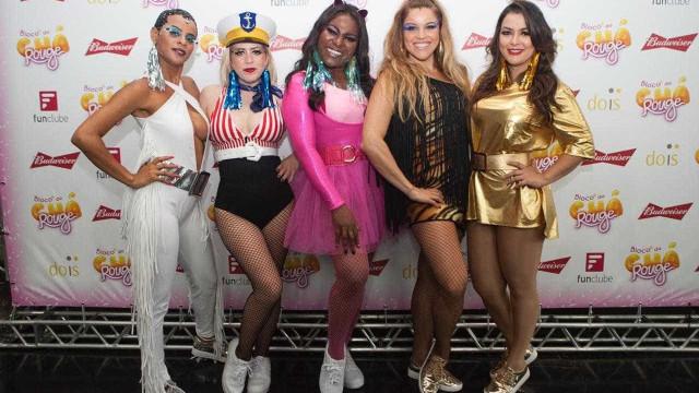 Substituto de Xuxa, grupo Rouge reúne 4 mil na Virada Cultural