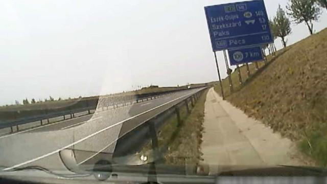 Motorista adormece com carro a 160Km/h e quase causa grave acidente