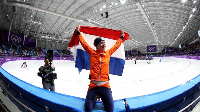 Patinadora holandesa vira a maior da história ao ganhar 5ºouro