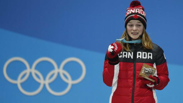Canadense recebe proteção após herdar medalha e sofrer ameaças