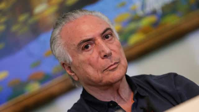 Temer é opção para ser candidato a presidente, diz Jucá