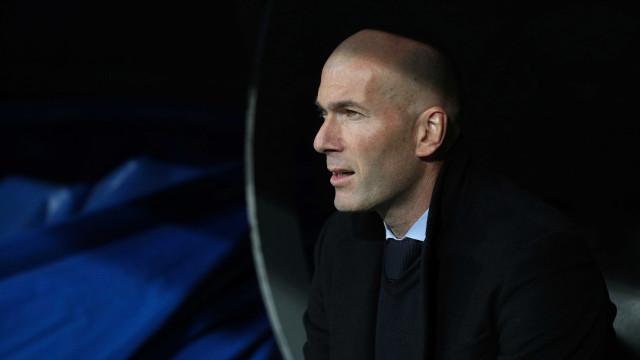 Zidane descarta pressão para jogo contra o PSG