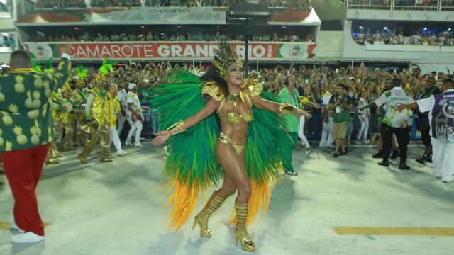 Juliana Paes lamenta rebaixamento da Grande Rio: 'Dei meu melhor'