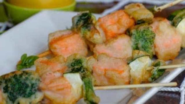 Tempurá de salmão é uma boa pedida para variar o preparo do peixe