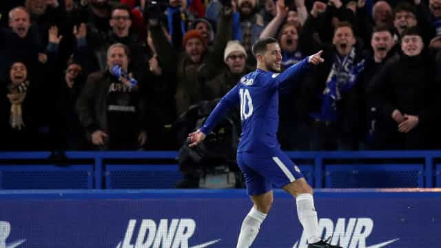 Hazard entra na mira de time inglês