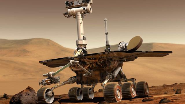 Rover Opportunity completa 5 mil 'dias' em Marte; FOTOS