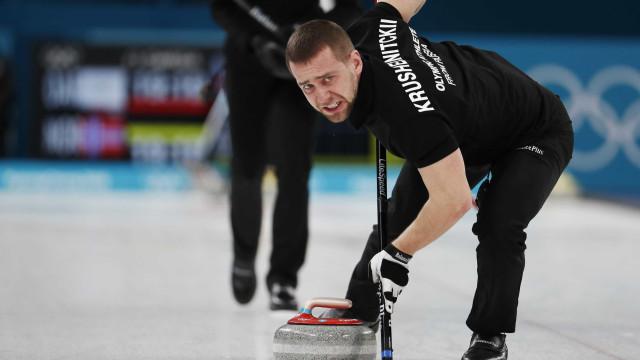 Rússia confirma doping de atleta do curling nos Jogos