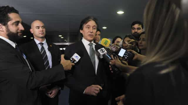 Eunício analisa saída de Pedro Parente da Petrobras